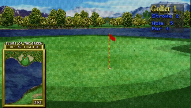 M.A.M.E. - Golden Tee Classic [v1.00] - Mt. Springs [Least Amount Of Strokes] - 54 - J. Jr.