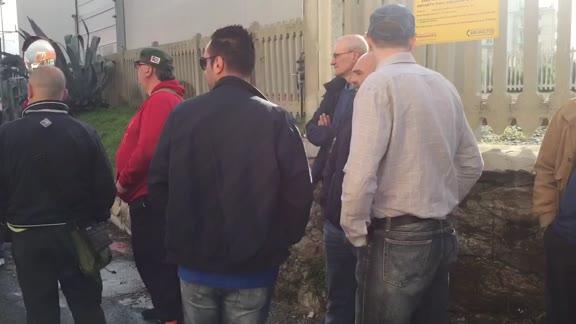 Video: Vado, Bombardier e Tirreno Power in sciopero congiunto