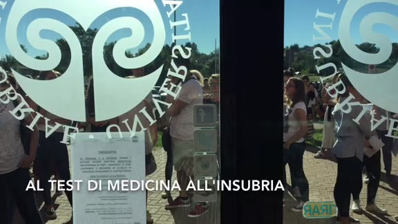 Video: Aspiranti matricole in fila per il test di medicina