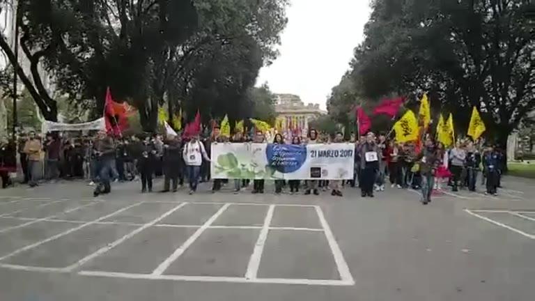 Libera, a Genova migliaia in piazza per dire no alle mafie