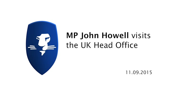 Local Member of Parliament John Howell visits LEO UK Head Office