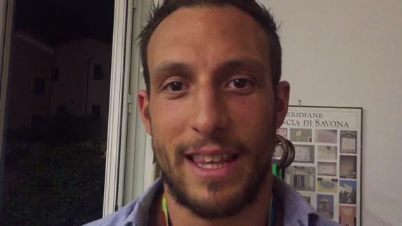 """Matteo Aicardi festeggiato a Tovo San Giacomo: """"Il bronzo di Rio? Ha lo stesso sapore di un oro"""""""