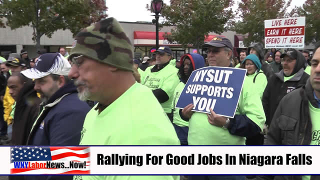 Western New York Labor News� NOW! - (December 2013 Edition) - Segment I
