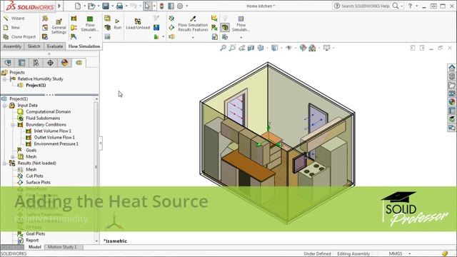 How to Add Heat Sources in SOLIDWORKS - CAD Tutorials