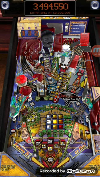 Android - Pinball Arcade - Ripley's Believe It Or Not - High Score Challenge! - 20,281,400 - W. Dietrich