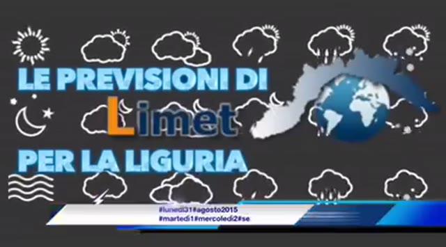 Video: Meteo Liguria: l'estate esala gli ultimi respiri, mentre l'autunno spinge