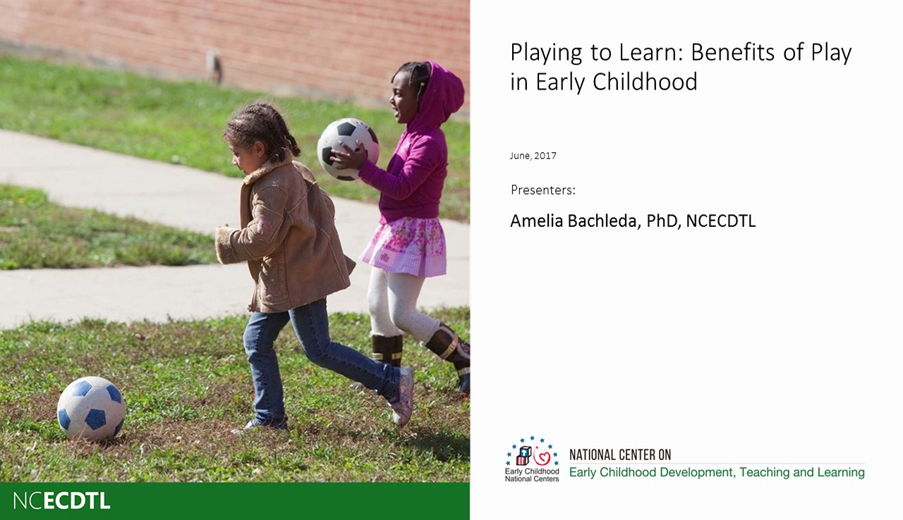 Playing to Learn: Benefits of Play in Early Childhood