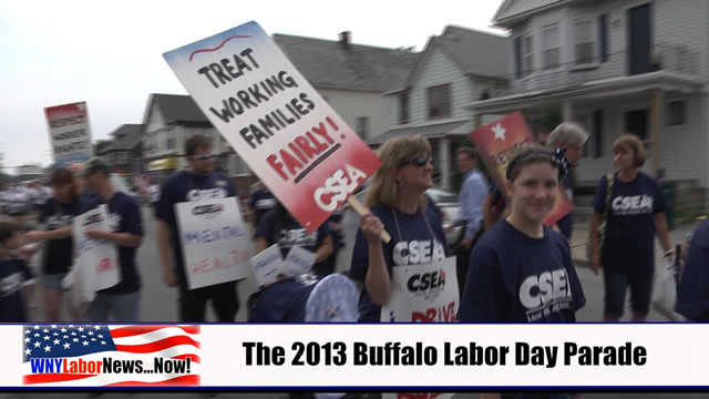 Western New York Labor News� NOW! - (September 2013 Edition) - Segment I