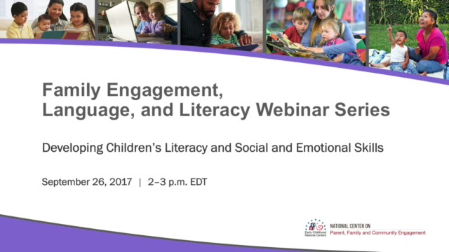 Developing Children's Literacy and Social and Emotional Skills