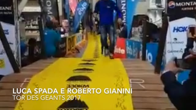 Video: Spada e Gianini al traguardo del Tor des Geants