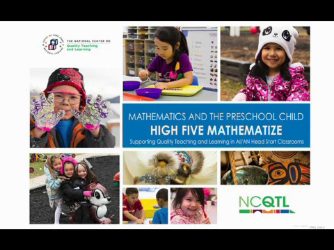 Math and the Preschool Child: High Five Mathematize
