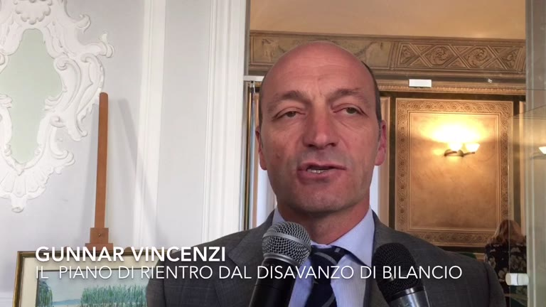 "Video: Vincenzi e la ""manovra anti buco"""