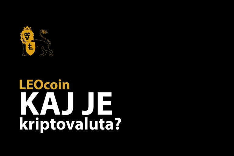 What is Cryptocurrency - Slovenian