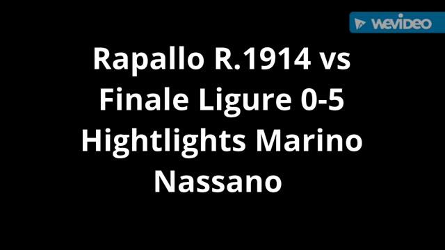 Eccellenza, Rapallo contro Finale: gli highlights