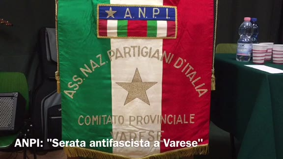 "Video: Anpi: ""Un fermo no al fascismo"""