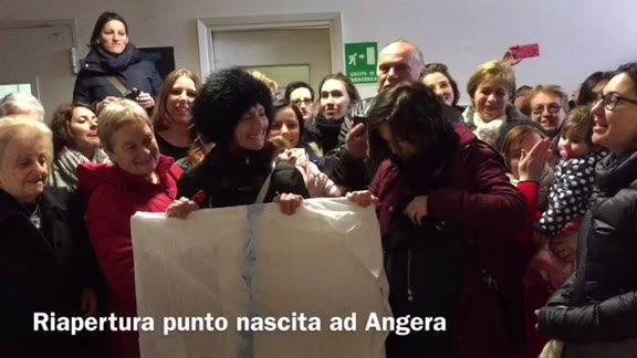 Video: Riapre il punto nascita di Angera