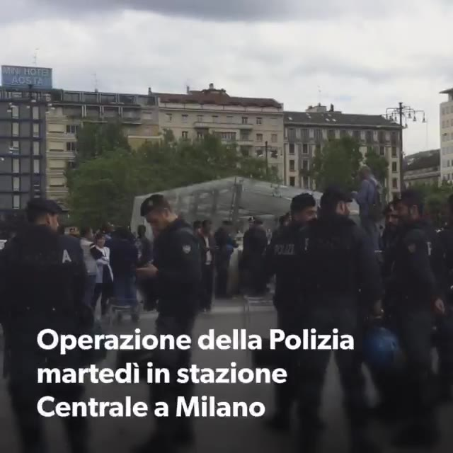 Video: Immigrazione, controlli a tappeto in Stazione Centrale
