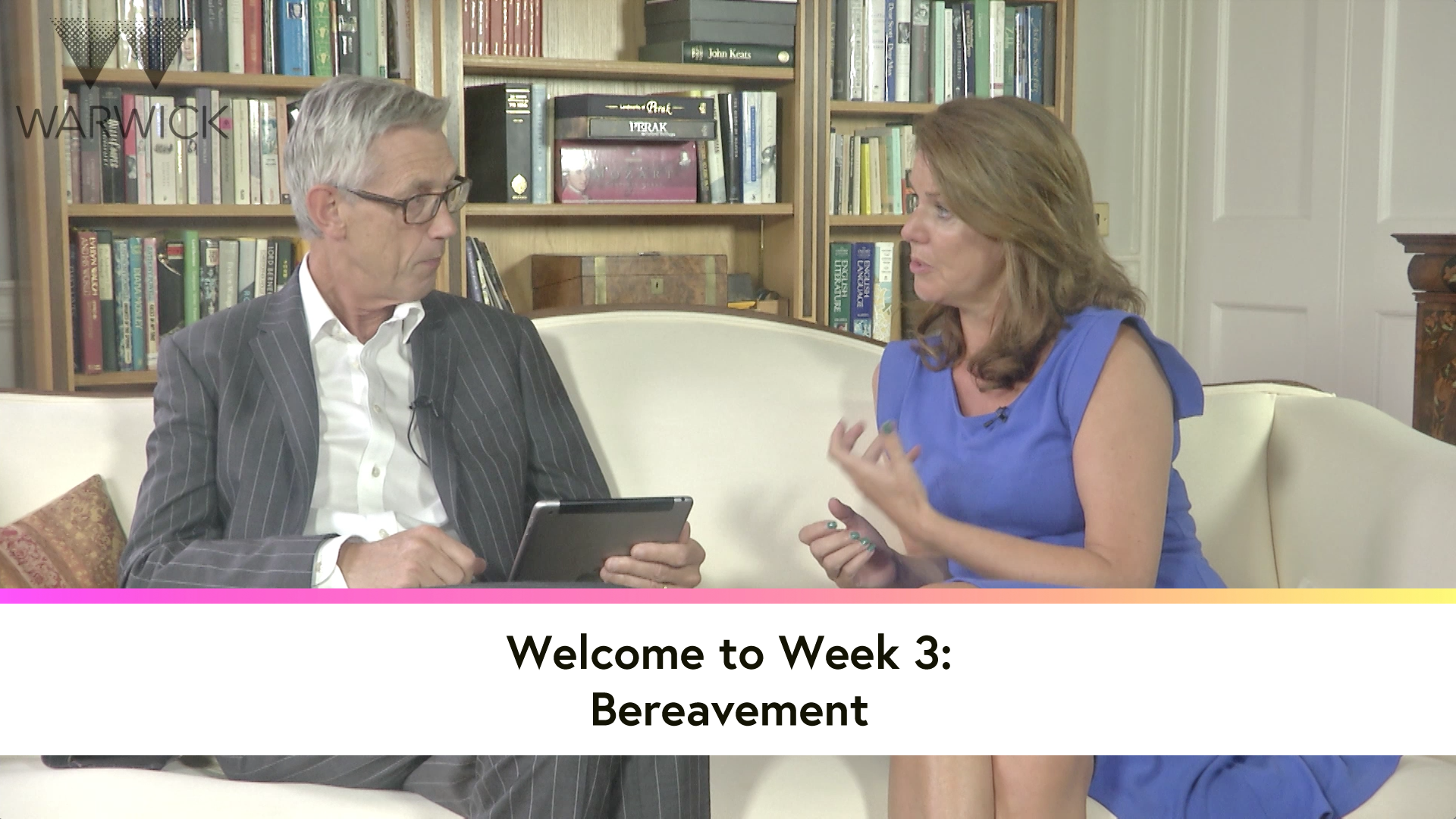 Welcome to Week 3: Bereavement