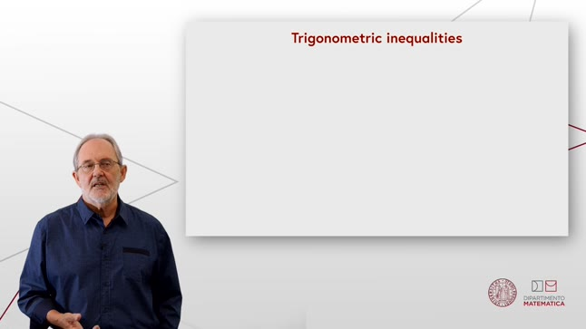 Trigonometric inequalities