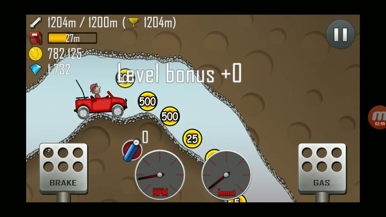Android - Hill Climb Racing - Jeep - Cave [Distance] - 1,299 - Charles Adams