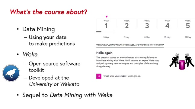More Data Mining with Weka - Online Course