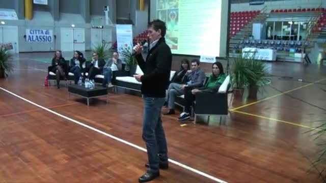 """Ad Alassio ci si """"allena per il futuro"""" con Igor Cassina e Daniela Masseroni"""