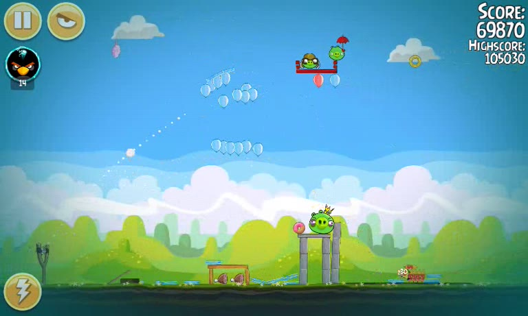Android - Angry Birds Seasons - Pig Days - 2-8: First Hot Air Balloon Anniversary - 115,850 - Andrew Mee