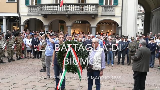 Video: La rievocazione della Battaglia di Biumo