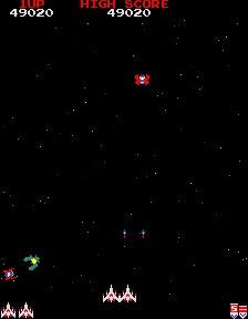 M.A.M.E. - Galaga [Namco rev.B] - Points [Marathon] - 958,620 - Terence Wong