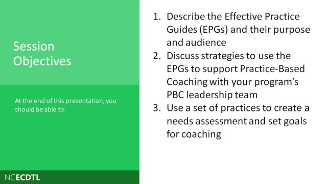 Digging Deeper: Exploring the Effective Practice Guides as a Resource for Coaches