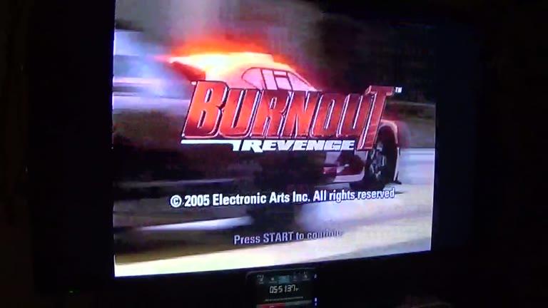 Xbox - Burnout Revenge - PAL - Road Rage - Rank 06 Dangerous - Central Route Short - Reverse [Takedowns] - 29 - john brissie