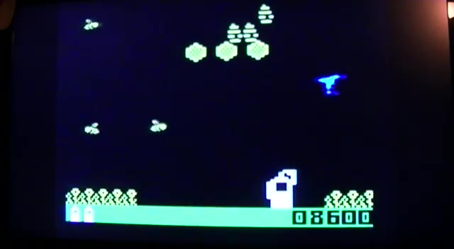 Intellivision - Buzz Bombers - NTSC/PAL - Default Settings - 713,100 - Hector Rodriguez