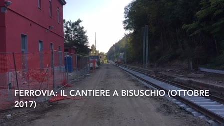Video: Ferrovia: il cantiere alla stazione di Bisuschio Viggiù (ottobre 2017)