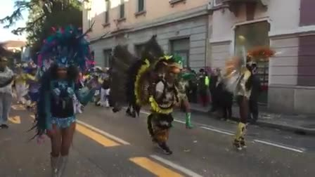 Video: Le brasiliane del Carnevale Bosino