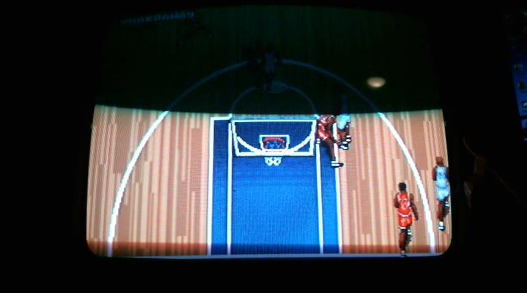 Sega Genesis / Sega Mega Drive - NBA Action '95 - NTSC - Biggest Blowout - 211 - Derek Ruble