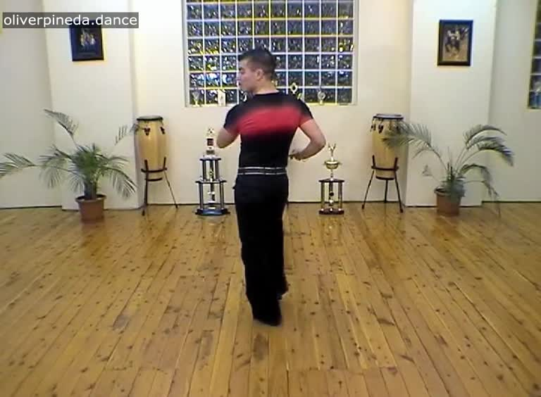 MV42 Hip action salsa basic to music