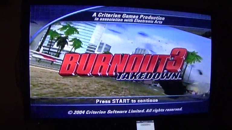 Xbox - Burnout 3: Takedown - PAL - Time Attack - USA - Downtown Northbound [Fastest Completion] - 01:06.11 - john brissie