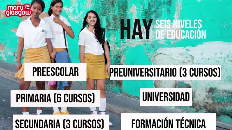 Cuba: escuela y uniformes screenshot