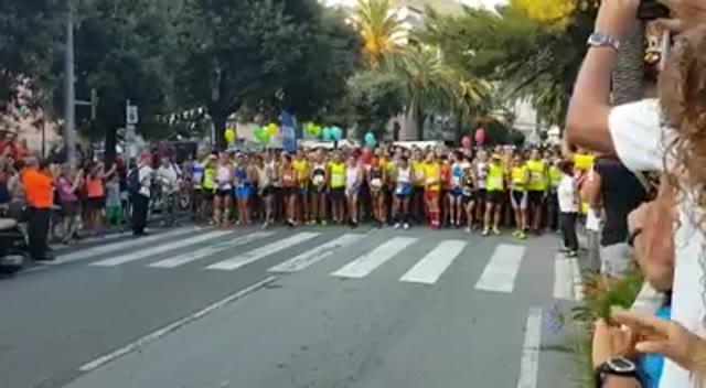 Arenzano Half Marathon: la partenza