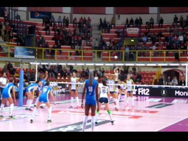 Video: Club Italia Crai vs Il Bisonte di Firenze