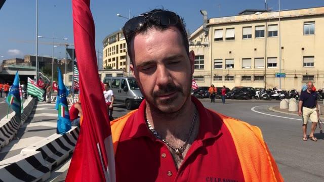 Savona, sciopero in porto