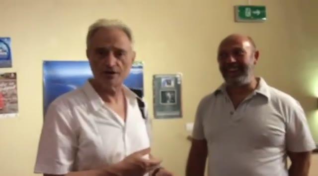 Amedeo Minghi rapito dai tesori culturali e artistici di Albenga