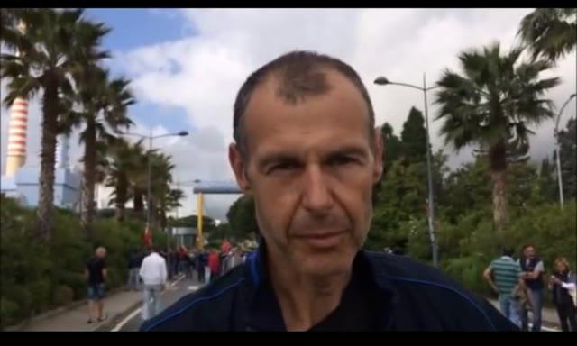 """Video: L'Rsu di Tirreno Power: """"Impegno per la riqualificazione del sito"""""""