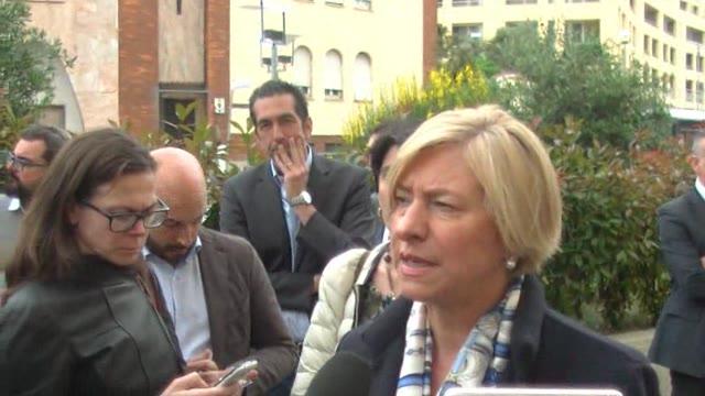 """Video: Piaggio Aerospace, il ministro Pinotti: """"Il drone è il futuro dell'azienda"""""""