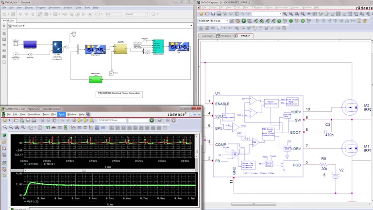 PSpice MATLAB Simulink Integration - Overview