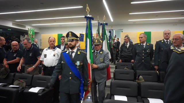 Video: Anniversario Guardia di Finanza, il discorso del colonnello Francesco Vitale