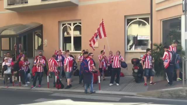 Video: La festa dei tifosi diretti verso la finale di Champions League