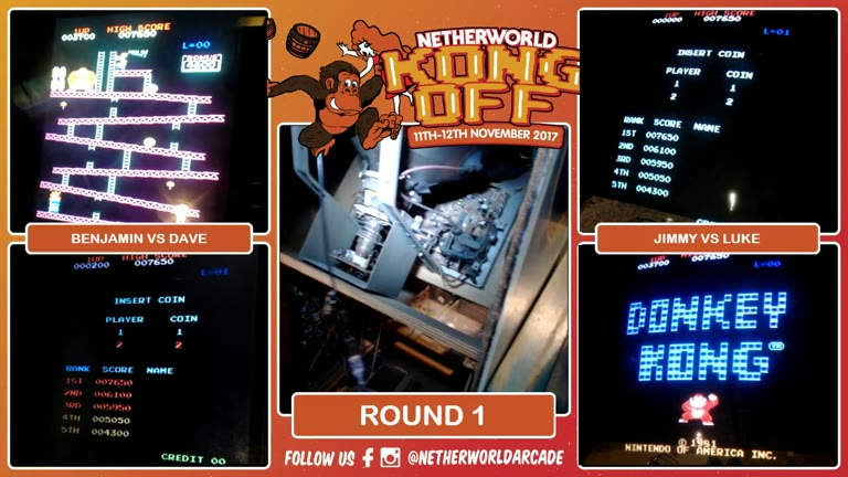 Arcade - Donkey Kong - Points [Hammer Allowed] - 312,000 - John McNeill