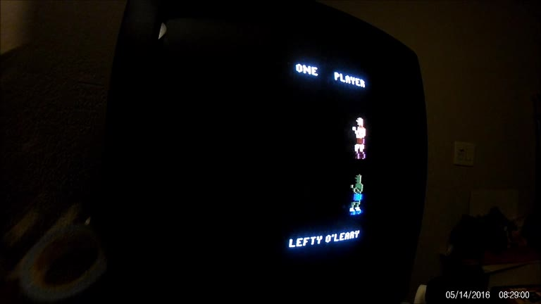 Atari 2600 / VCS - Real Sports Boxing - NTSC - Game 1, Difficulty B [Fastest Knockout] - 48.0 - Rudy Ferretti