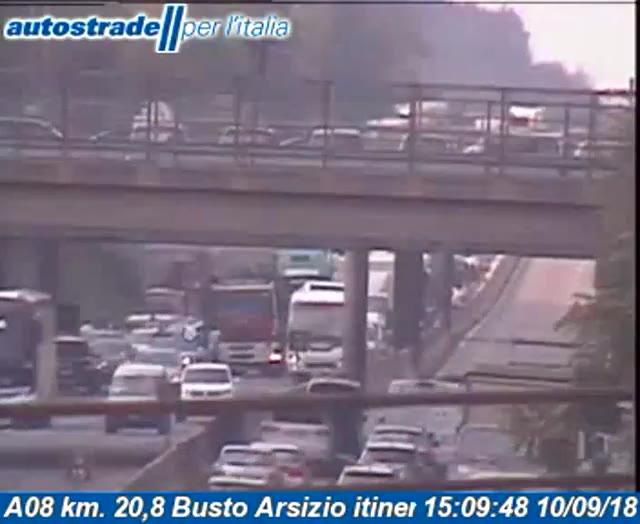 Video: Ribaltamento in A8